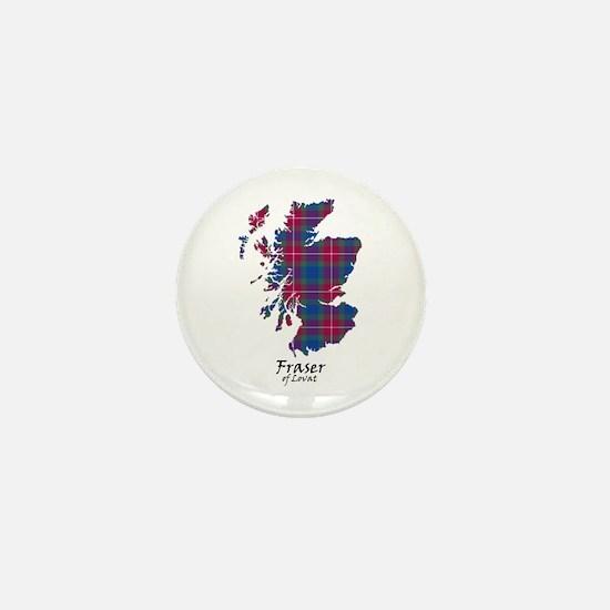 Map - Fraser of Lovat Mini Button