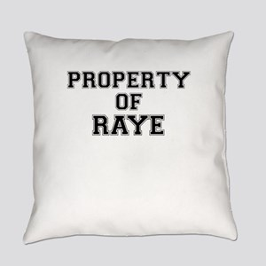Property of RAYE Everyday Pillow