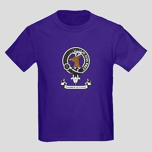 Badge - Fraser of Lovat Kids Dark T-Shirt