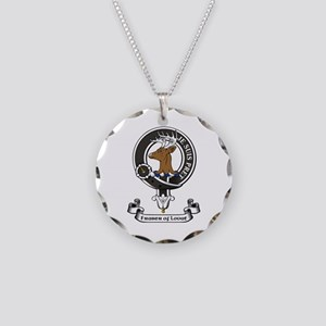 Badge - Fraser of Lovat Necklace Circle Charm