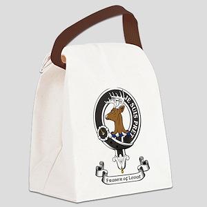 Badge - Fraser of Lovat Canvas Lunch Bag