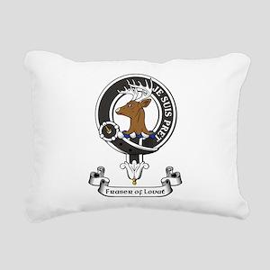 Badge - Fraser of Lovat Rectangular Canvas Pillow