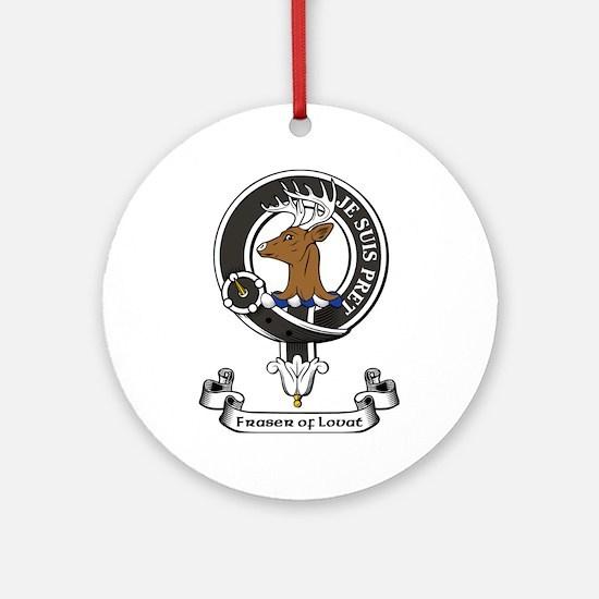 Badge - Fraser of Lovat Ornament (Round)