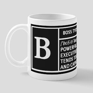 BOSS TYCOON Mug
