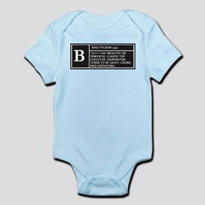 BOSS TYCOON Infant Bodysuit