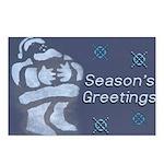 Santa Season's Greetings Postcards (Package of 8)
