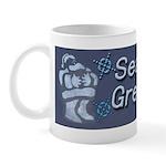 Santa Season's Greetings Mug