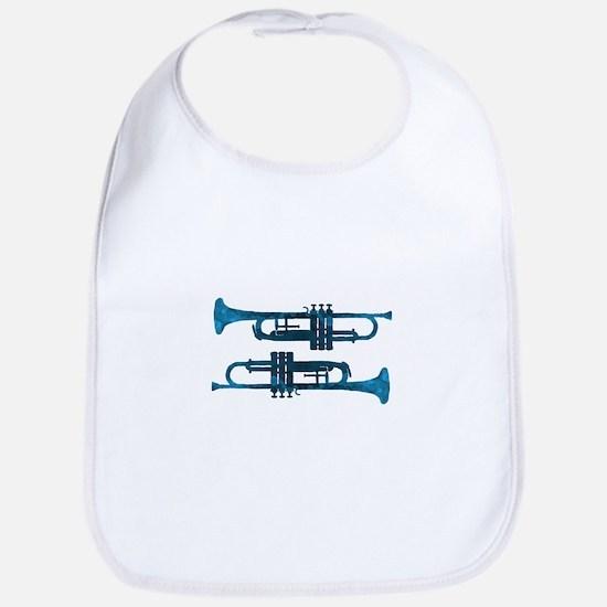 Trumpets Baby Bib
