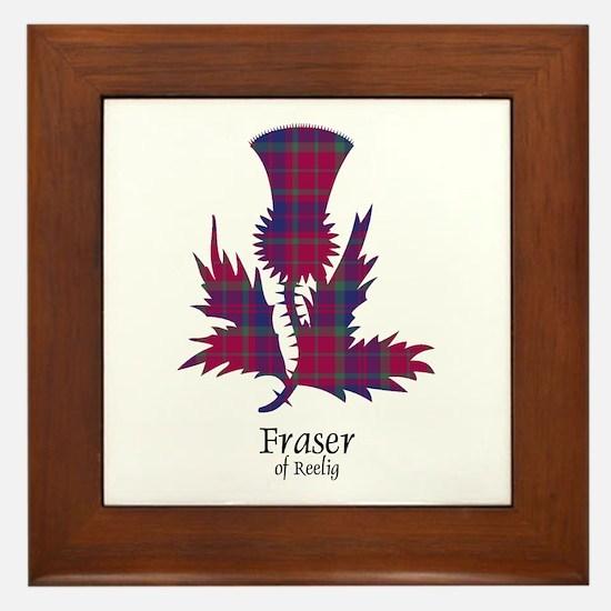Thistle - Fraser of Reelig Framed Tile