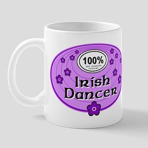 100% Irish Dancer in Purple Mug