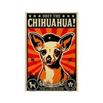Chihuahua Revolutionary Leader Magnet