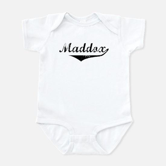 Maddox Vintage (Black) Infant Bodysuit