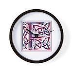 Monogram - Fraser of Reelig Wall Clock