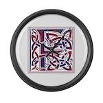 Monogram - Fraser of Reelig Large Wall Clock