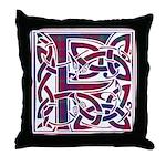 Monogram - Fraser of Reelig Throw Pillow