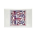 Monogram - Fraser of Reelig Rectangle Magnet (100