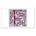 Monogram - Fraser of Reelig Sticker (Rectangle)