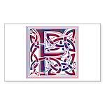 Monogram - Fraser of Reelig Sticker (Rectangle 10