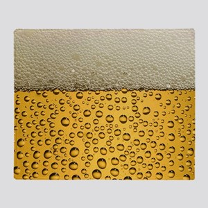 Beer Funny Drinking Party Throw Blanket