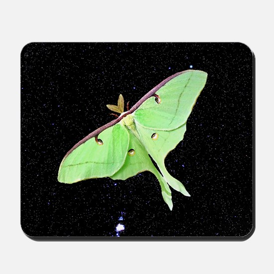 Luna Moth Mousepad