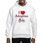 I Love Adoption (Korea/USA) Hooded Sweatshirt