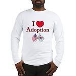 I Love Adoption (Korea/USA) Long Sleeve T