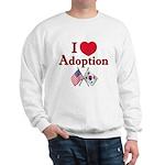 I Love Adoption (Korea/USA) Sweatshirt