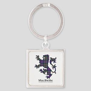 Lion-MacBride.MacDonaldClanranald Square Keychain