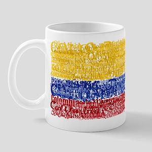 Textual Colombia Mug