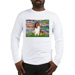 Lilies (2)/Collie (1S) Long Sleeve T-Shirt