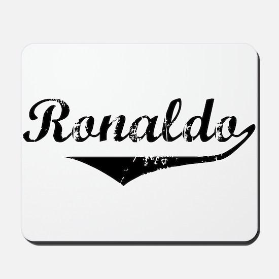 Ronaldo Vintage (Black) Mousepad