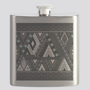 Native Pattern Flask
