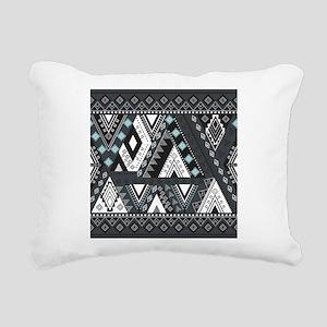 Native Pattern Rectangular Canvas Pillow