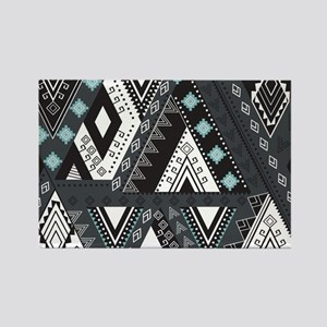 Native Pattern Rectangle Magnet