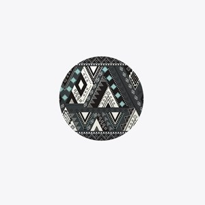 Native Pattern Mini Button