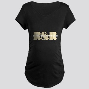 Tan_ProductiveRandR2 Maternity T-Shirt
