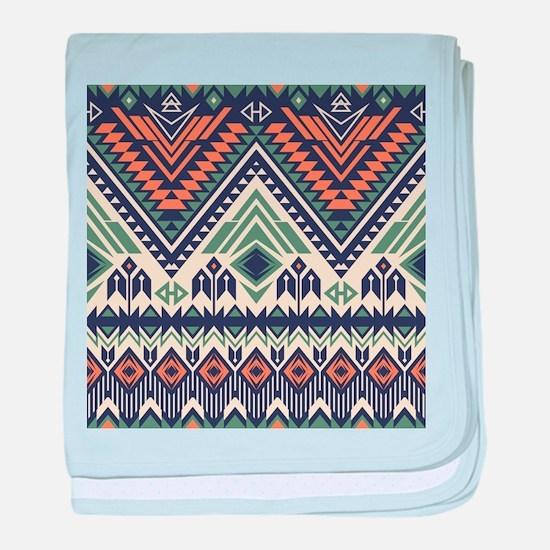 Native Pattern baby blanket