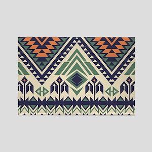 Native Pattern Rectangle Magnet