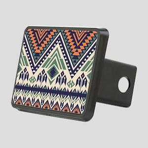 Native Pattern Rectangular Hitch Cover