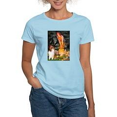 MidEve / Collie (Sbl-Wht) Women's Light T-Shirt