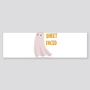 Sheet Faced Bumper Sticker