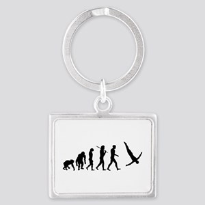 Diving Evolution Landscape Keychain