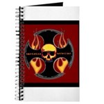 Red cross and flames Journal