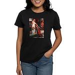 Accolade / Collie (s&w) Women's Dark T-Shirt