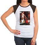 Accolade / Collie (s&w) Women's Cap Sleeve T-Shirt