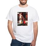 Accolade / Collie (s&w) White T-Shirt