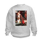 Accolade / Collie (s&w) Kids Sweatshirt