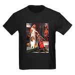 Accolade / Collie (s&w) Kids Dark T-Shirt