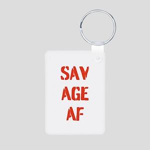 SAVAGE AF Keychains