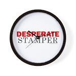 Desperate Stamper Wall Clock